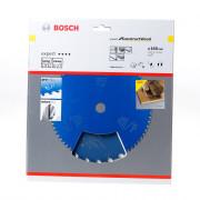 Bosch Cirkelzaagblad 24 tanden Construct Wood WZ+pyramide 165 x 20 x 2mm