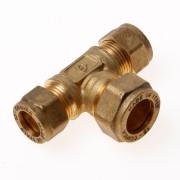 Installatiebranche T-koppeling 3x knel 12 x 15 x 12mm