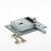 Nemef Opleg grendelslot staal verzinkt type 98/12