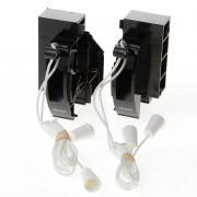 Koordbed.set Ducoline ventilatierooster 10/30 zwart