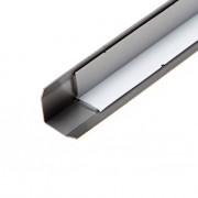 Oxloc Hoekbeschermer RVS zelfklevend 25 x 25 x 1mm x 3 meter