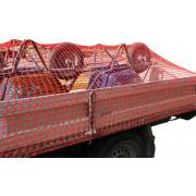 Kelfort Aanhangwagennet, rood, 250x450cm