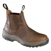 Grisport Werkschoen enkelmodel bruin