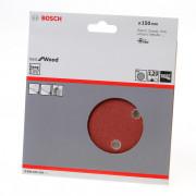 Bosch Schuurschijf wood and paint diameter 150mm K120 blister van 5 schijven