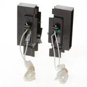 Koordbed.set Ducoflat ventilatierooster 12/26 zwart
