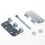 Axa Smart Veiligheidsschijflagerscharnier topcoat gegalvaniseerd 89 x 89 x 3mm 1637-09-23/7