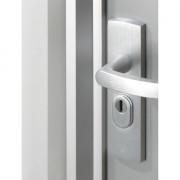 Axa Deurbeveiligingsstrip M2-IN 235cm aluminium wit gelakt SKG* 7606-00-88