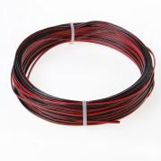 Rc luidsprekersnoer rood/zwart 2 x 0.5mm