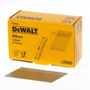DeWalt Spijkers zonder kop gegalvaniseerd 44mm 16 Gauge 1,6mm 20° voor DC618 doos van 2500 spijkers