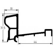 Luvema Nieuwbouwprofiel geanodiseerd S6.G