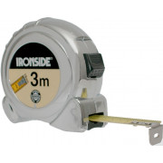 Ironside Rolbandmaat chroom economy 3 meter x 16mm