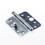 Axa Smart Veiligheidsscharnier ronde hoeken los gestort topcoat gegalvaniseerd 89 x 89 x 3mm SKG*** 1617-09-23/7V