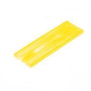 Kunstst.vulplaatje geel 30x4x100