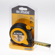 Ironside Rolbandmaat rubber ABS 8 meter x 25mm