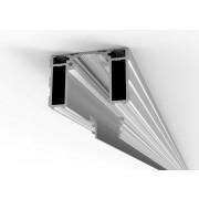 Proslide onzichtbaar inbouwprofiel 4 meter inclusief 2x essi-module