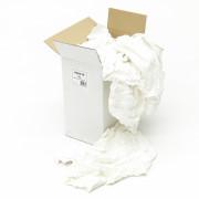 Poetslappen witte laken doos 10 kg