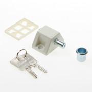 Axa Raamoplegslot wit gelijksluitend 3011-00-68/0LE