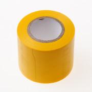 PVC Isolatietape geel 50mm x 10 meter