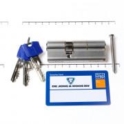 Winkhaus Cilinder dubbel buiten x binnen 50/30mm voorzien van SKG ***, met certificaat en 3 sleutels