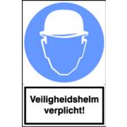 Artelli Sticker Veiligheidshelm verplicht!