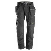 FlexiWork broek+ holsterzak. zwart