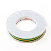 Coroplast 302 tape groen/geel 15mm x25 meter