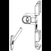Maco Draaiblokkering verdekt (valsluitplaat) 10759