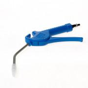 Briton Blaaspistool blauw met silencer 28611