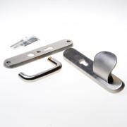 Intersteel SKG3 omkeer vh-schilden greep/kruk PC72mm RVS