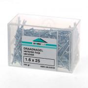 Draadnagel verlorenkop staal verzinkt (kleinverpakking)