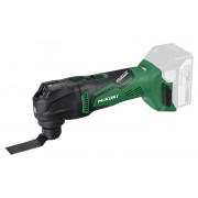 HiKOKI CV18DBL W2Z multi tool 18V ,brushless, exclusief accu's en lader, inclusief systainer HSC II