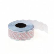 Etiket 26x16 golfrand wit permanent (prijstang)