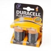 Duracell Batterij greece staaf 1.5v lr20 D blister van 2 batterijen