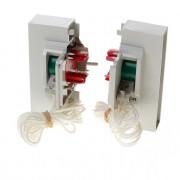 Koordbed.set Ducoton ventilatierooster  10/k grijs