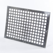 Gavo Ventilatieplaat enkel rij aluminium 50 x 35cm