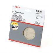 Bosch Schuurschijfnet Wood and Paint 150mm K400 M480 blister van 5 schijven