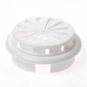 Weckx Ventilatierooster verstelbaar-afsluitbaar kunststof wit 100-150mm