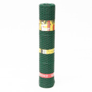 Betafence Gaas zeskant vlechtwerk groen geplastificeerd 500 x 25mm x 25 meter