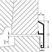 Luvema Nieuwbouwprofiel acrylaatbestendig 829.AR