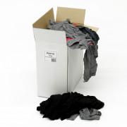 Poetslappen bont tricot dun/dik 10 kg