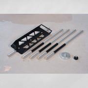 Slangwaterpas kit houder met kit 545592