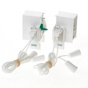 Koordbed.set Ducosmart  ventilatierooster  60/38 wit