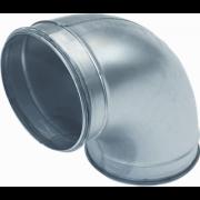 Spiralo Bocht geperst 90° 80mm