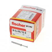 Fischer Nagelplug n5x40/15s