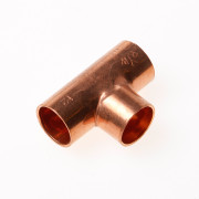 DPS T-stuk roodkoper 12mm