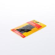 Deltafix Stootdopjes set van 8 dopjes 18 x 18 x 6mm zwart