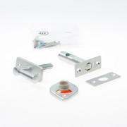 Nemef Insteekgrendel vij- en bezet WC-grendel aluminium F12705/4-50mm