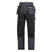 RuffWork Denim broek+ holsterzak. spijker/zwart