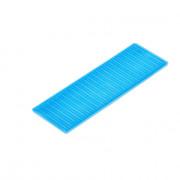 Kunstst.vulplaatje blauw 30x2x100
