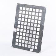 Gavo Ventilatieplaat enkel rij aluminium 25 x 35cm